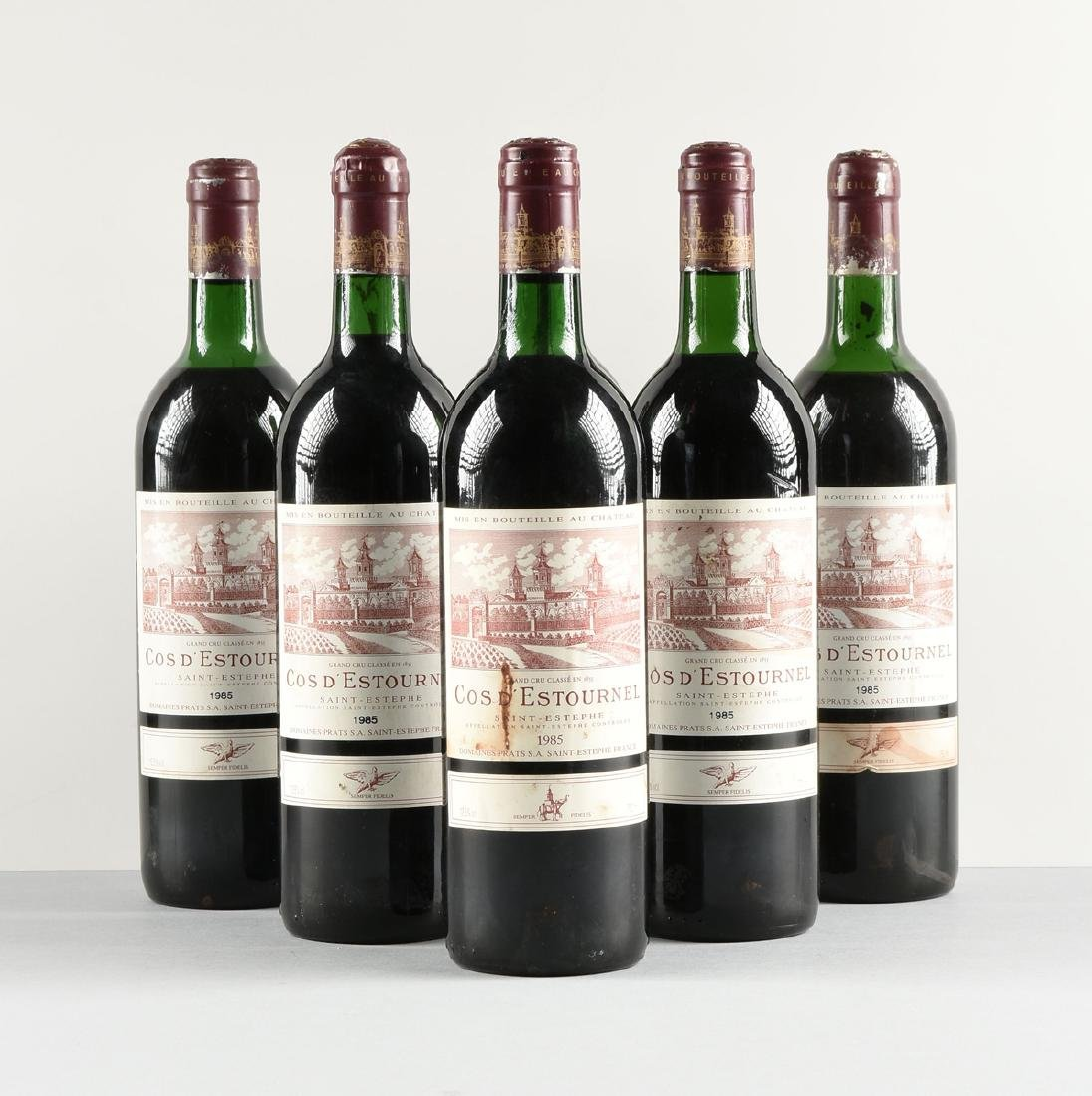 A GROUP OF SIX BOTTLES OF 1985 SAINT ESTÉPHE COS - 2
