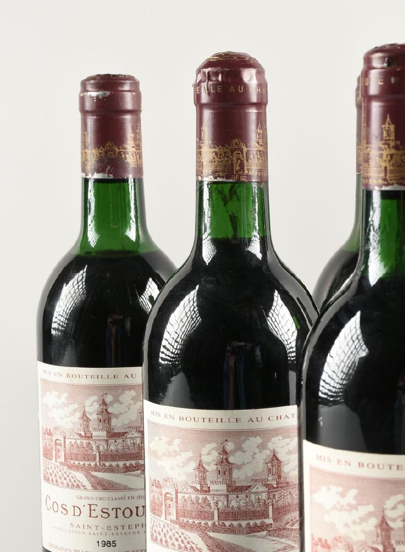 A GROUP OF SIX BOTTLES OF 1985 SAINT ESTÉPHE COS - 3