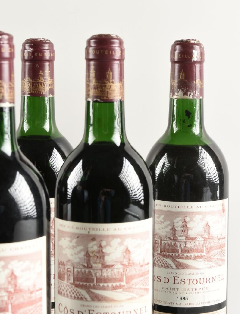A GROUP OF SIX BOTTLES OF 1985 SAINT ESTÉPHE COS - 4