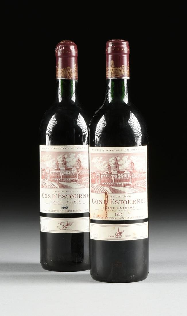 A GROUP OF SIX BOTTLES OF 1985 SAINT ESTÉPHE COS - 6