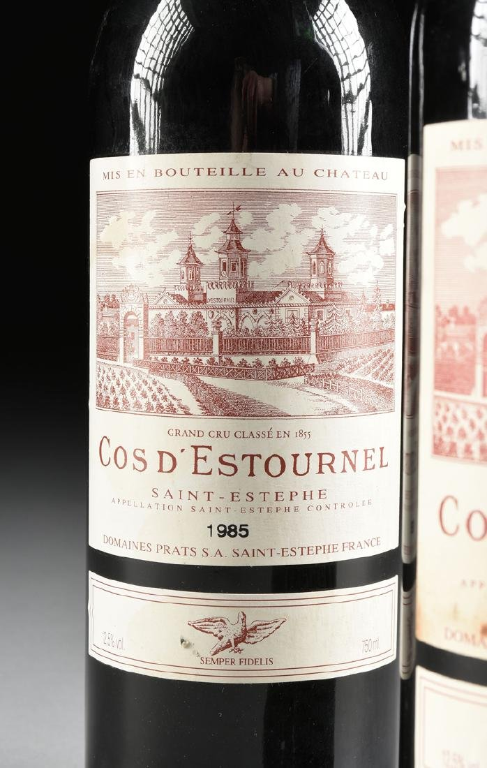 A GROUP OF SIX BOTTLES OF 1985 SAINT ESTÉPHE COS - 8