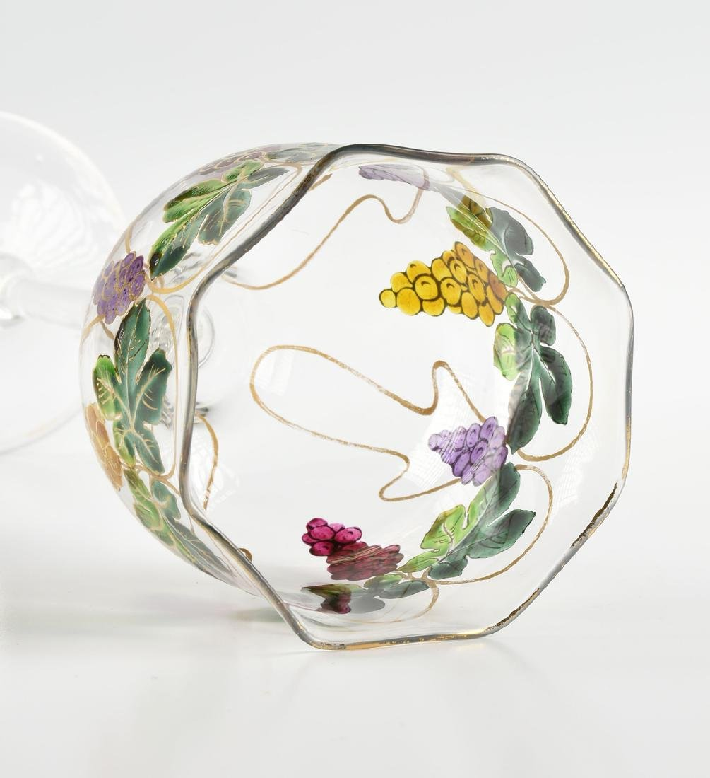 A GROUP OF FOUR GLASS VESSELS, CIRCA 1880-1900, - 4