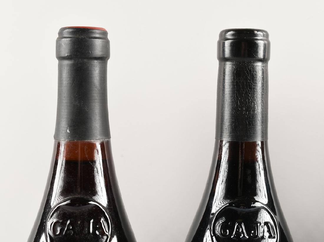 A GROUP OF FOUR BOTTLES OF GAJA BARBARESCO DOCG WINE, - 4