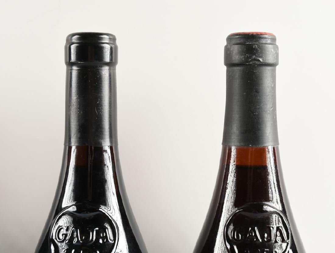 A GROUP OF FOUR BOTTLES OF GAJA BARBARESCO DOCG WINE, - 5