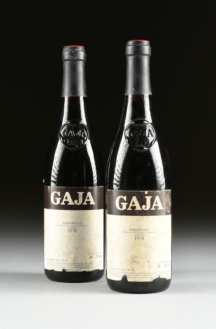 A GROUP OF FOUR BOTTLES OF GAJA BARBARESCO DOCG WINE, - 9