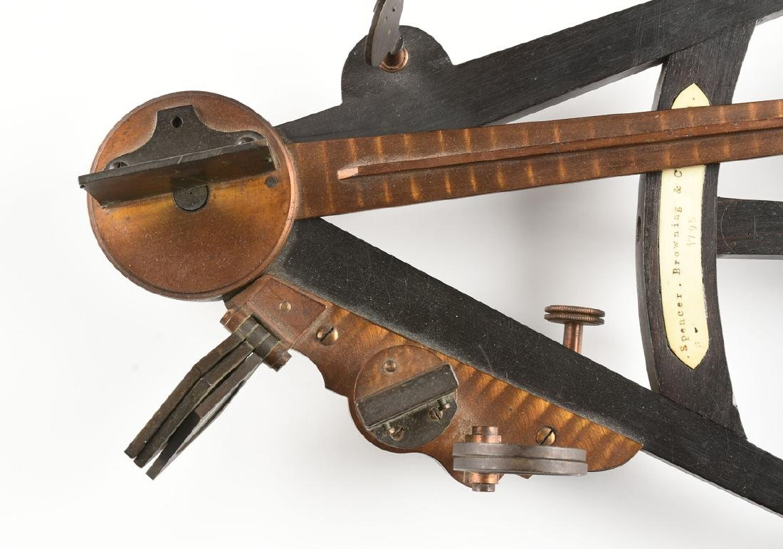 A SPENCER, BROWNING & CO. VICTORIAN EBONY, BONE, AND - 2