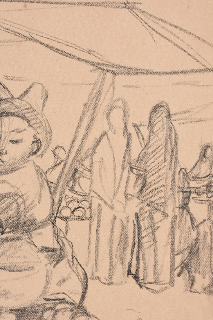 after DIEGO RIVERA (Mexican 1886-1957) A DRAWING, - 4