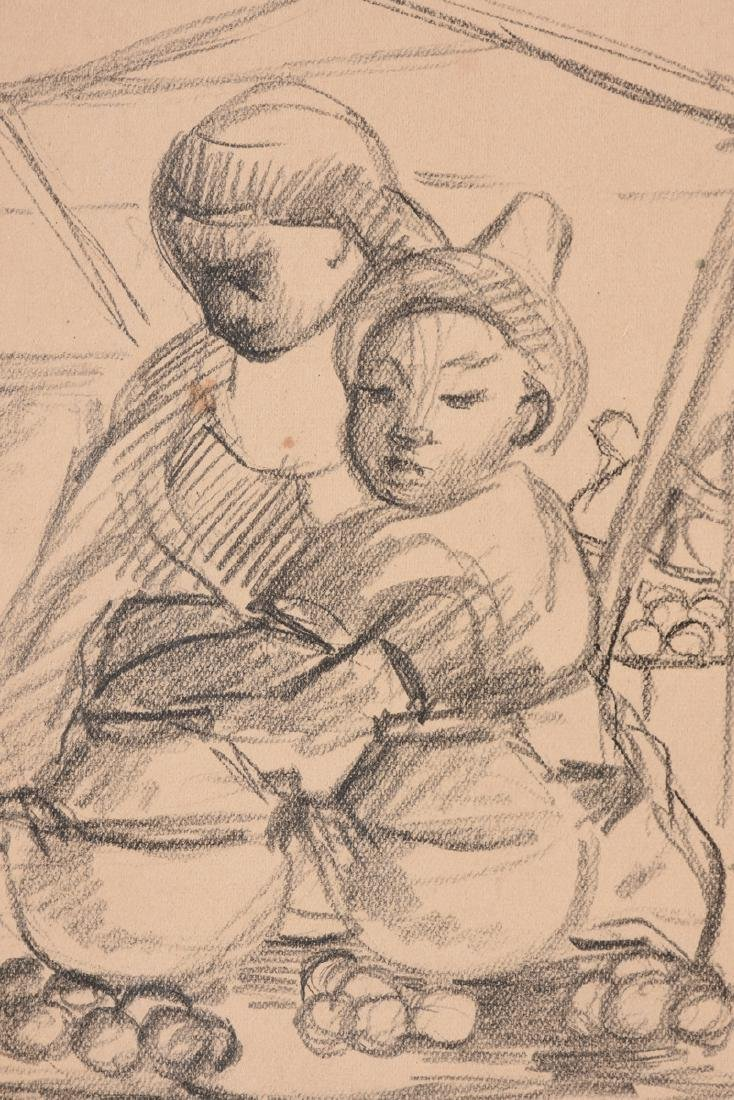 after DIEGO RIVERA (Mexican 1886-1957) A DRAWING, - 5