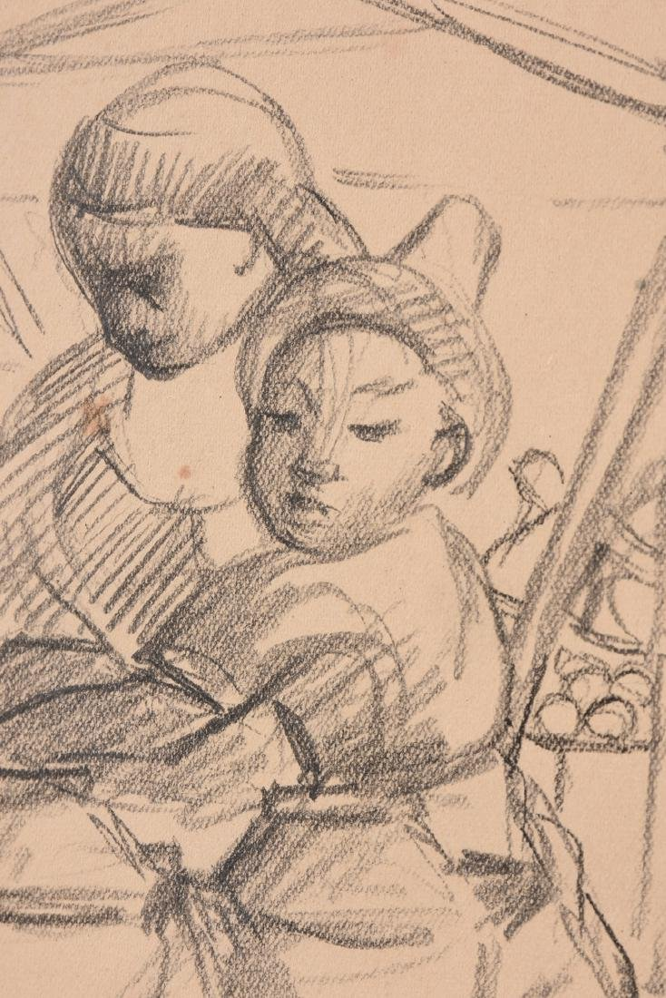 after DIEGO RIVERA (Mexican 1886-1957) A DRAWING, - 6