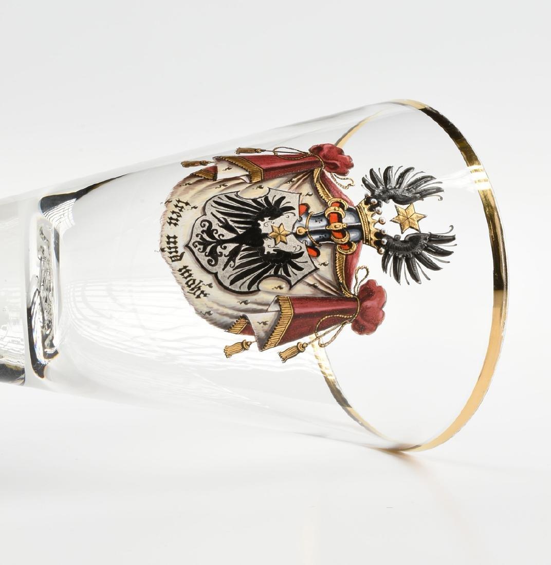 A SCHAFFGOTSCHE'SCHE JOSEPHENINHUTTE GILT AND ENAMEL - 4