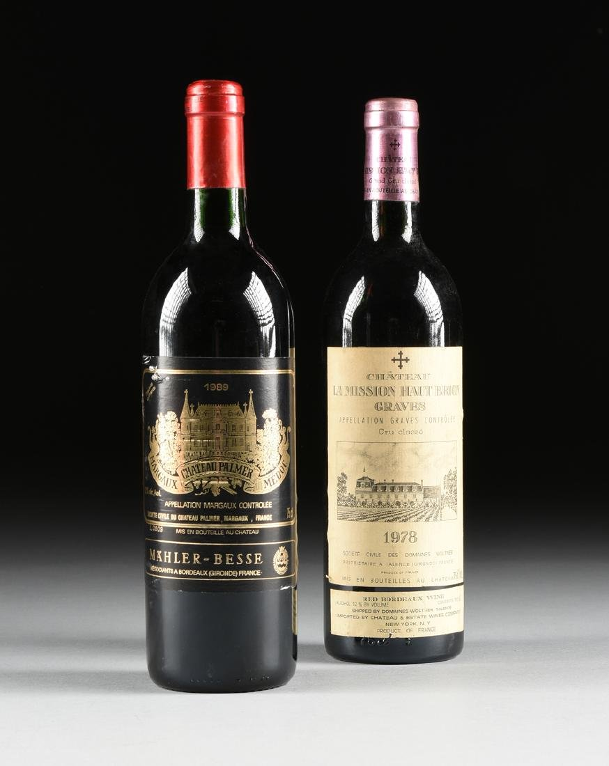 A GROUP OF TWO BOTTLES OF FRENCH WINE, - 2