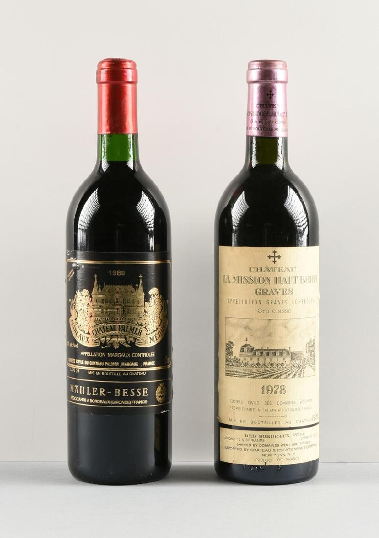 A GROUP OF TWO BOTTLES OF FRENCH WINE, - 3