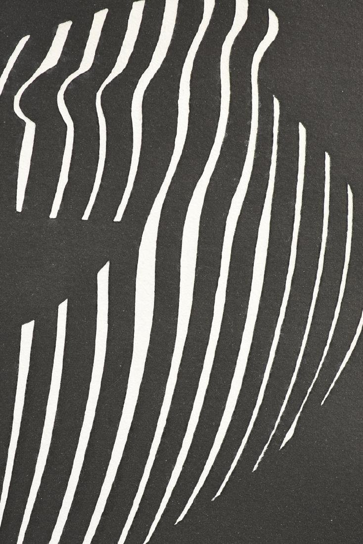 VICTOR VASARELY (French/Hungarian 1908-1997) A PAPER - 4