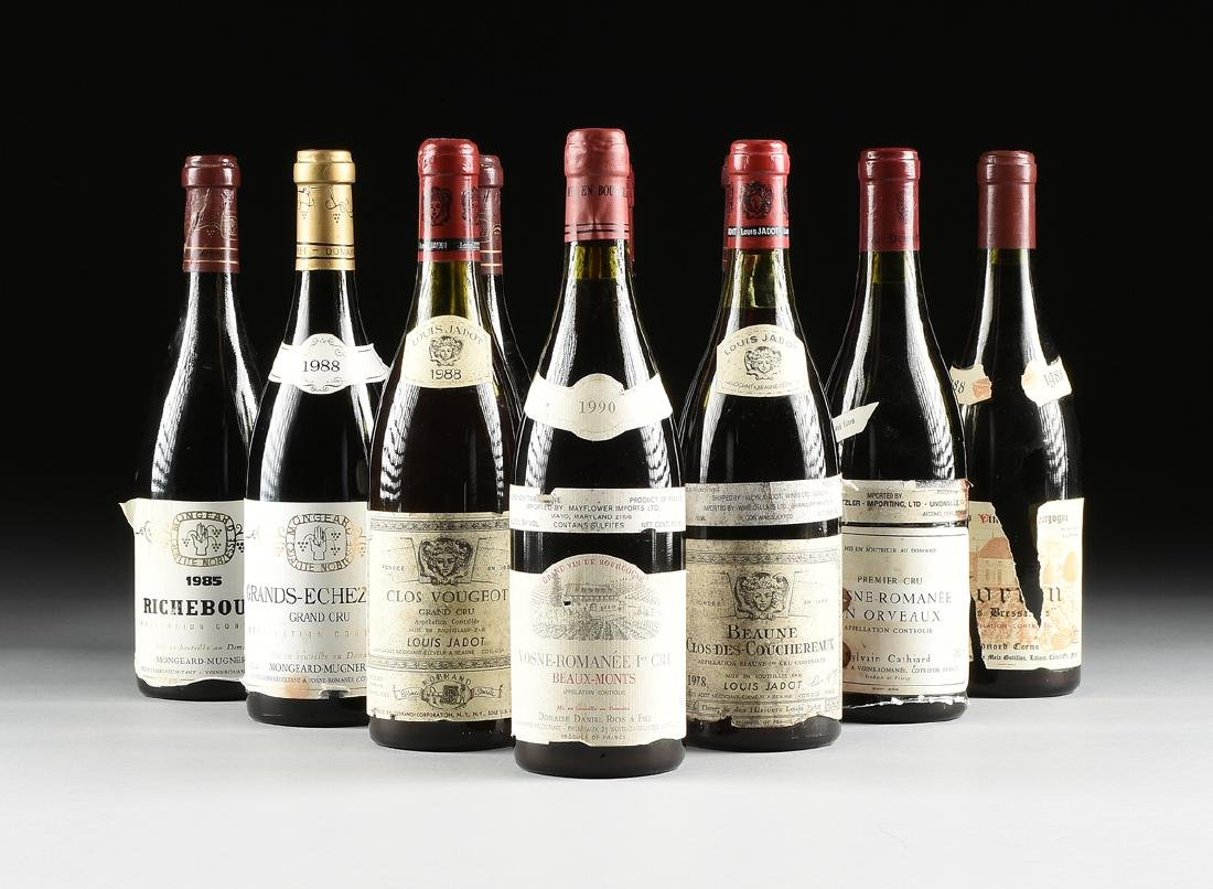 A GROUP OF ELEVEN BOTTLES OF FRENCH WINE, - 2