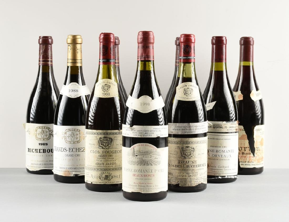 A GROUP OF ELEVEN BOTTLES OF FRENCH WINE, - 3
