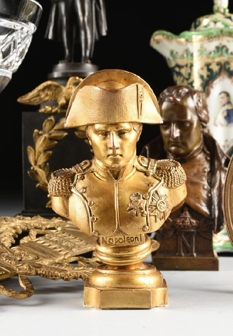 A GROUP OF FRENCH EMPIRE AND NAPOLEON THEME CABINET - 2