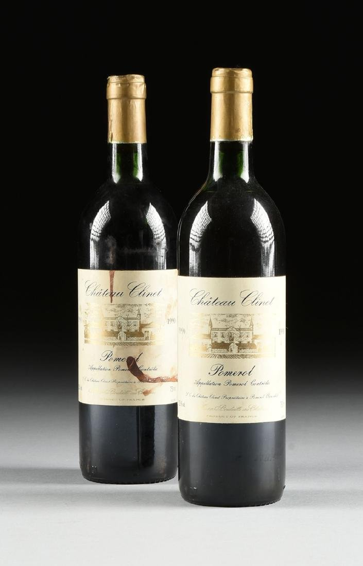 A LOT OF NINE BOTTLES OF 1990 CHÂTEAU CLINET POMEROL, - 6