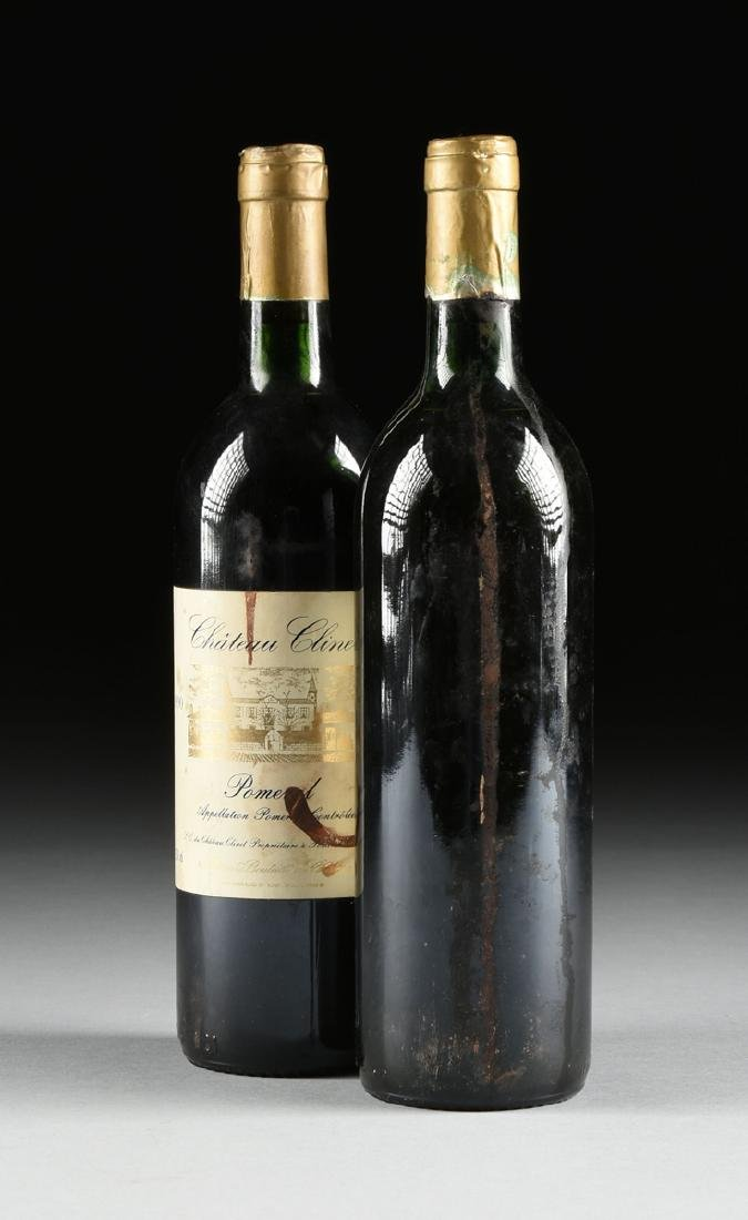 A LOT OF NINE BOTTLES OF 1990 CHÂTEAU CLINET POMEROL, - 7