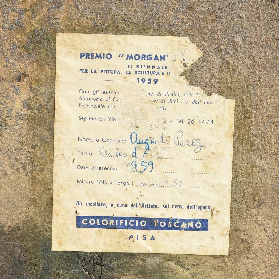 """AUGUSTO PEREZ (Italian 1929-2001) A SCULPTURE, """"Il - 10"""
