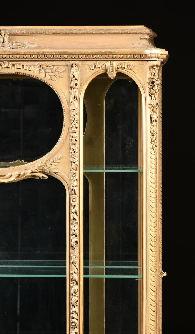 A NAPOLEON III GILTWOOD VITRINE, SECOND FRENCH EMPIRE - 2