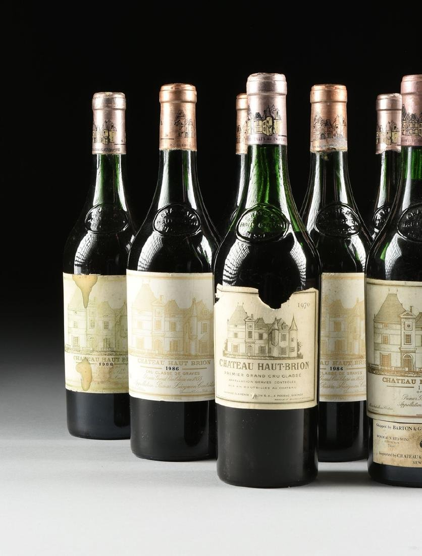 A GROUP OF TWELVE BOTTLES OF CHÂTEAU HAUT BRION WINE, - 2