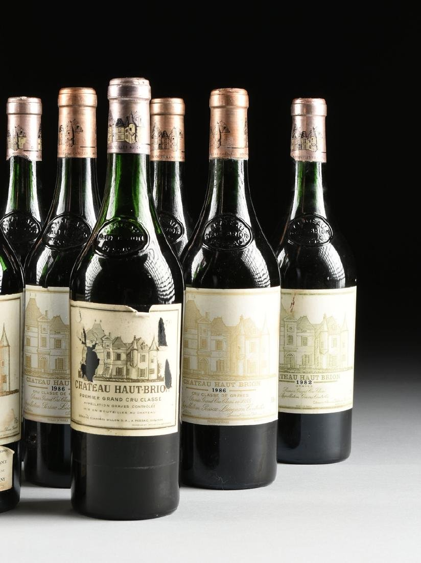 A GROUP OF TWELVE BOTTLES OF CHÂTEAU HAUT BRION WINE, - 3