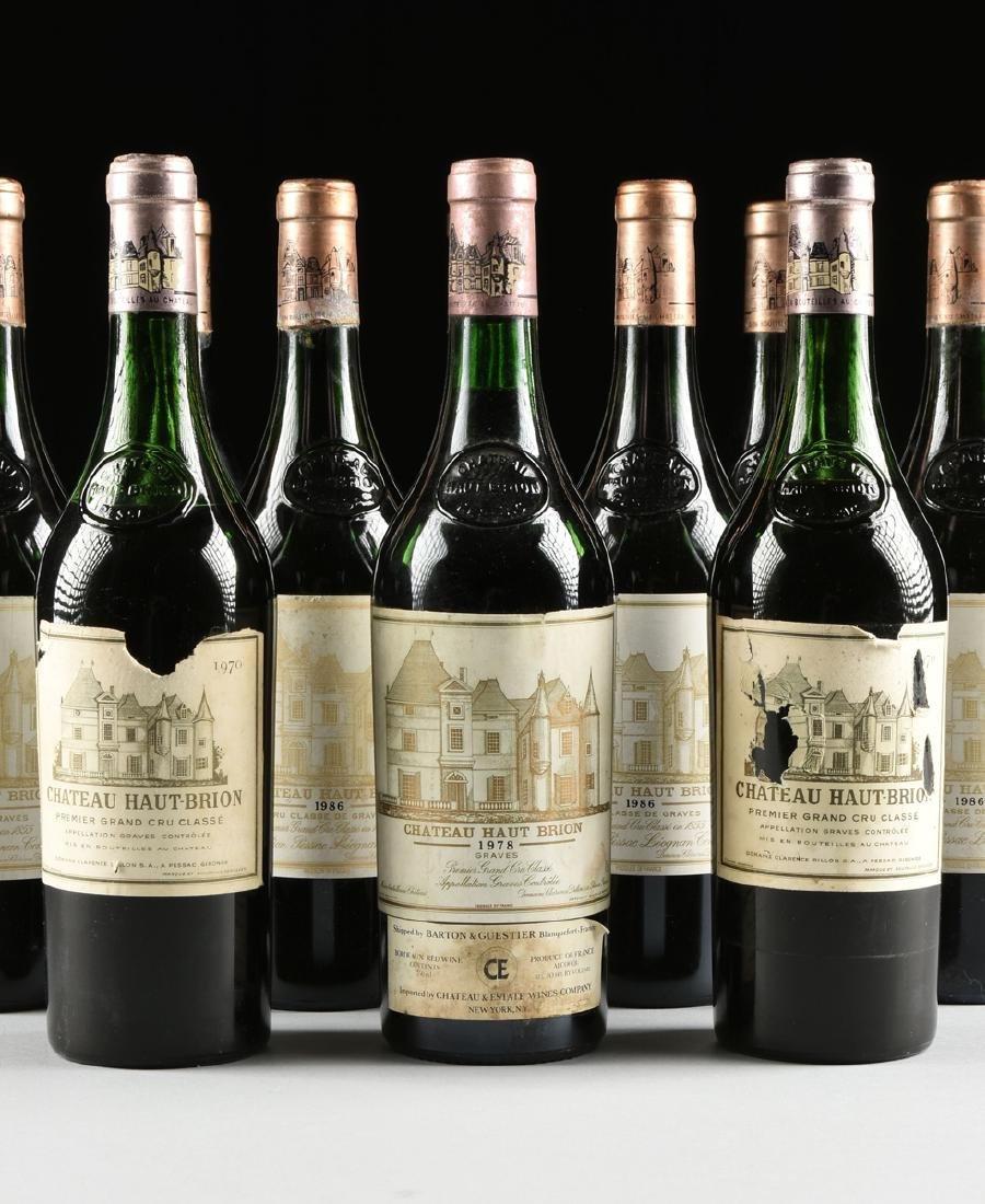 A GROUP OF TWELVE BOTTLES OF CHÂTEAU HAUT BRION WINE, - 4