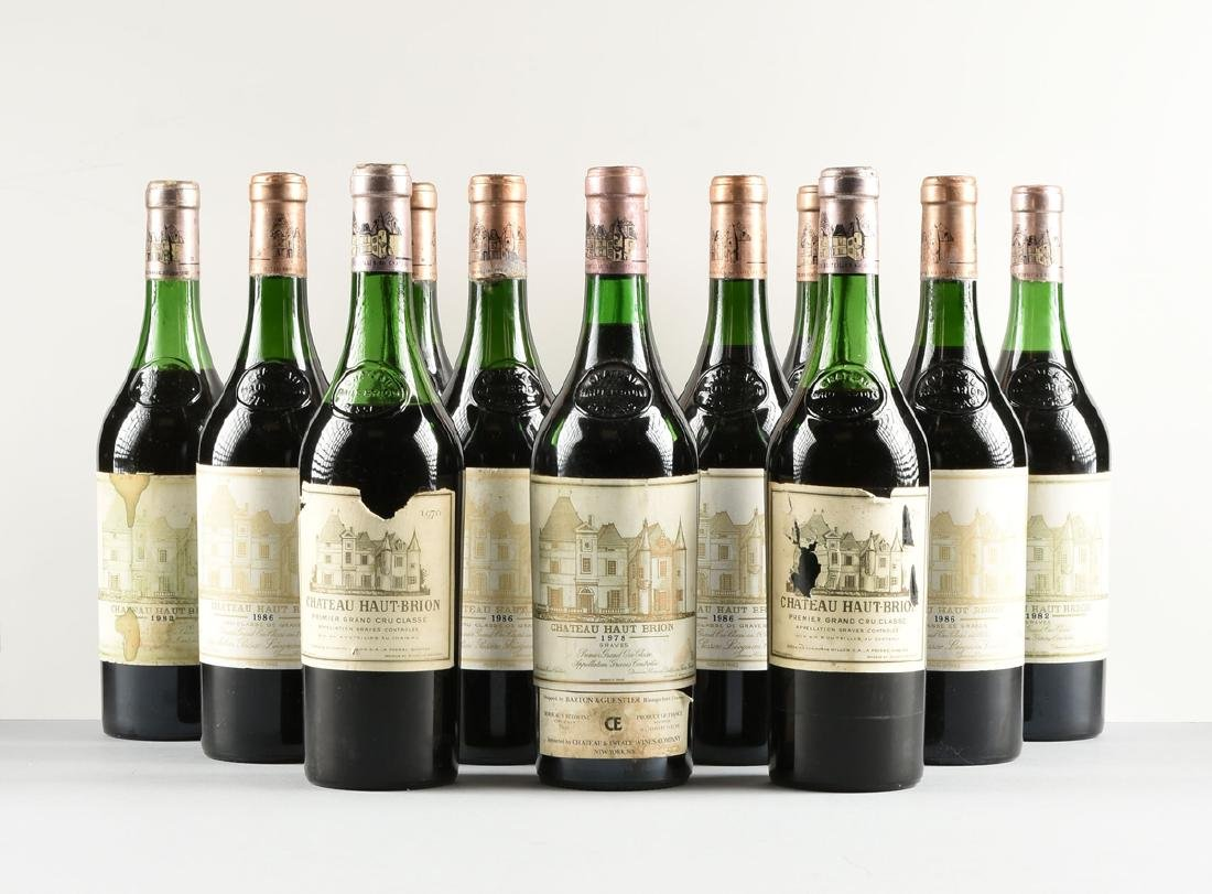 A GROUP OF TWELVE BOTTLES OF CHÂTEAU HAUT BRION WINE, - 5