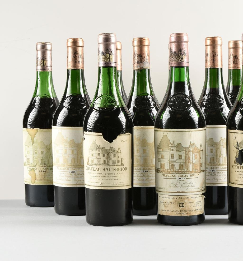 A GROUP OF TWELVE BOTTLES OF CHÂTEAU HAUT BRION WINE, - 6