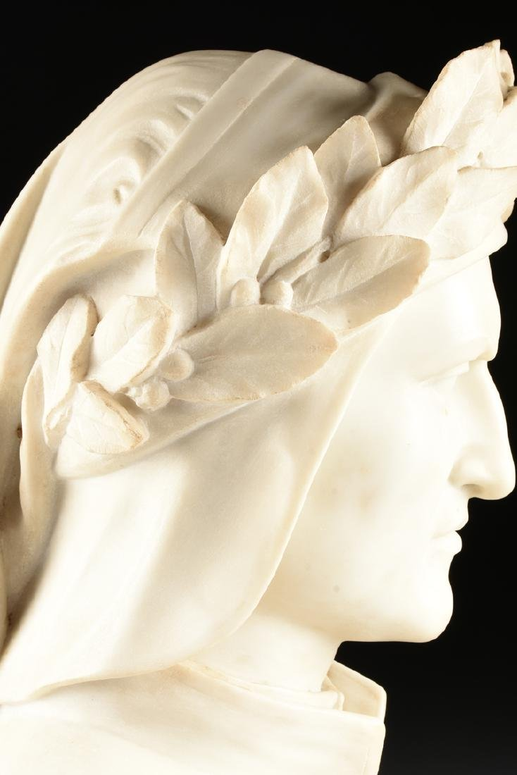 after PASQUALE ROMANELLI (Italian 1812-1887) A CARVED - 5