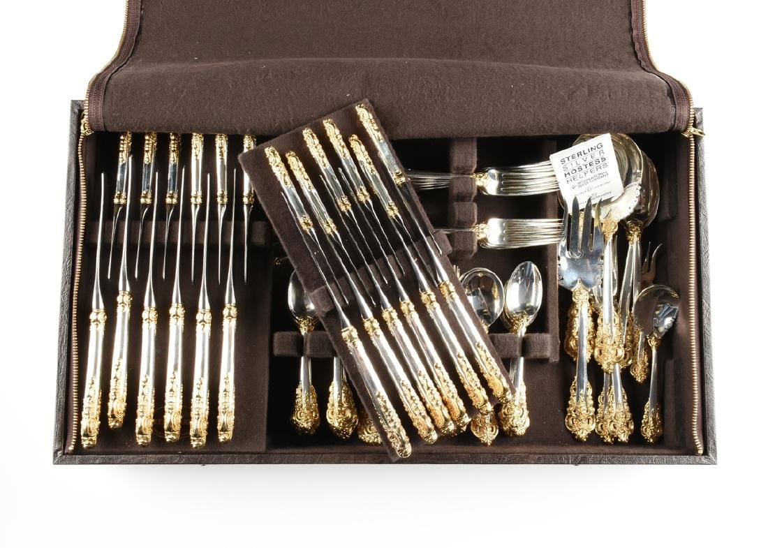 A ONE HUNDRED TWENTY-SEVEN PIECE SET OF WALLACE - 9