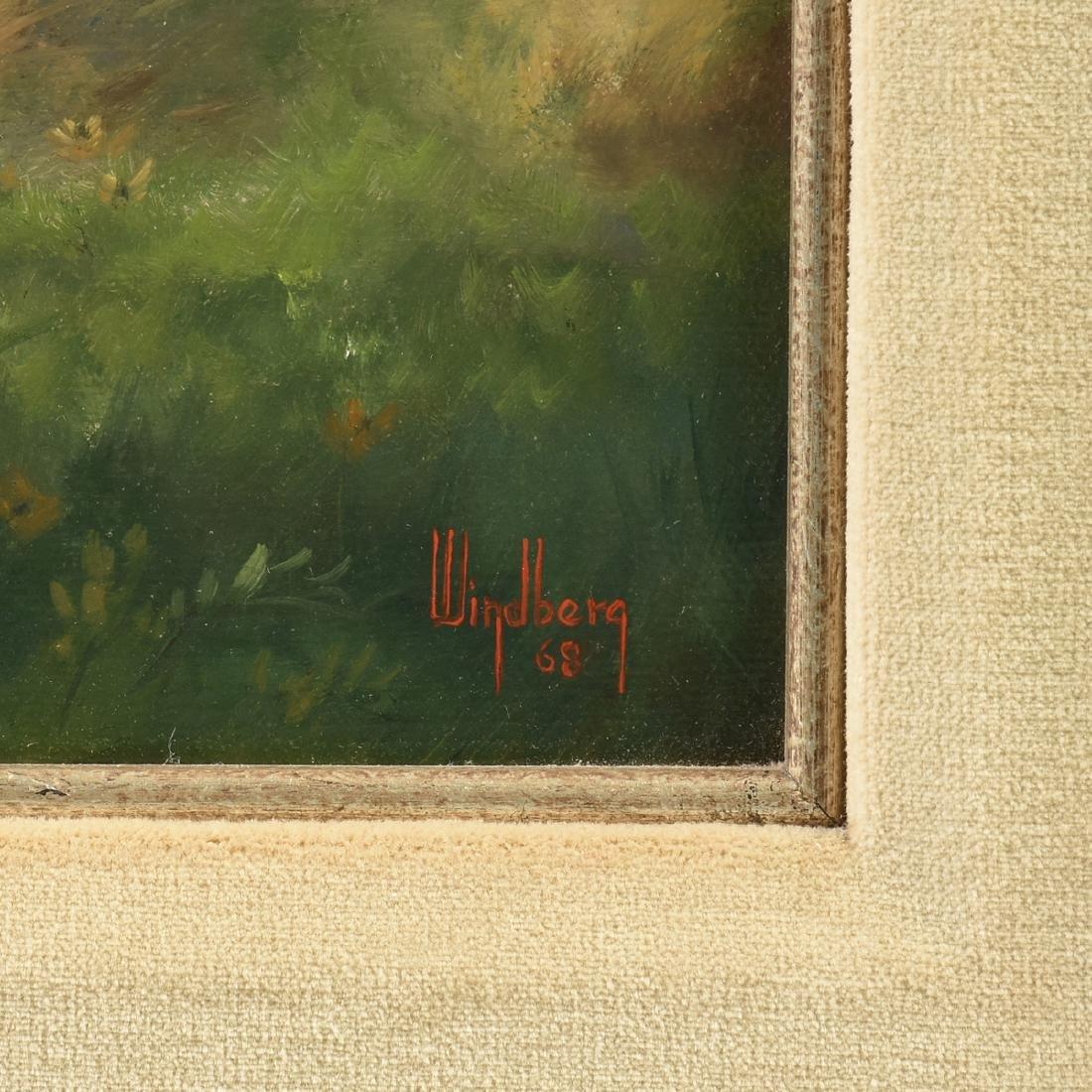 "DALHART WINDBERG (American b. 1933) A PAINTING, ""Texas - 3"