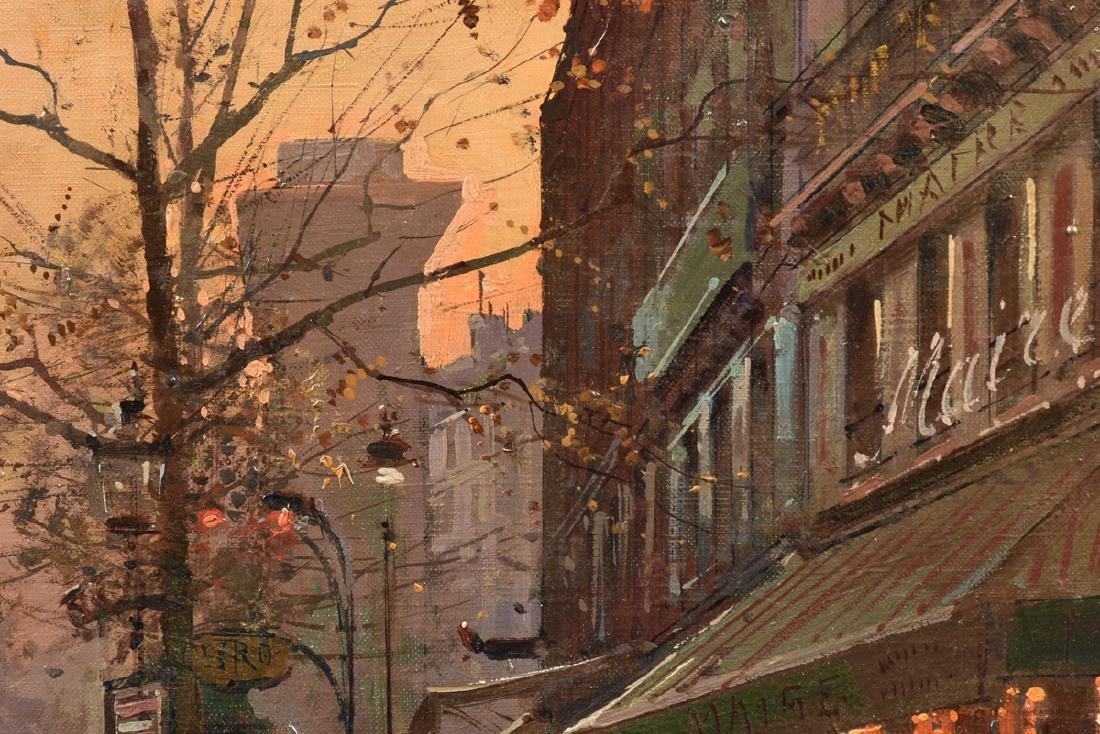 "ÉDOUARD CORTÈS (French 1882-1969) A PAINTING, ""Street - 10"