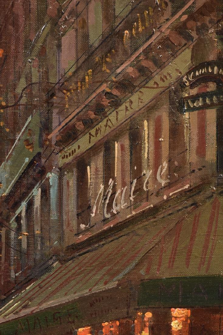"ÉDOUARD CORTÈS (French 1882-1969) A PAINTING, ""Street - 5"