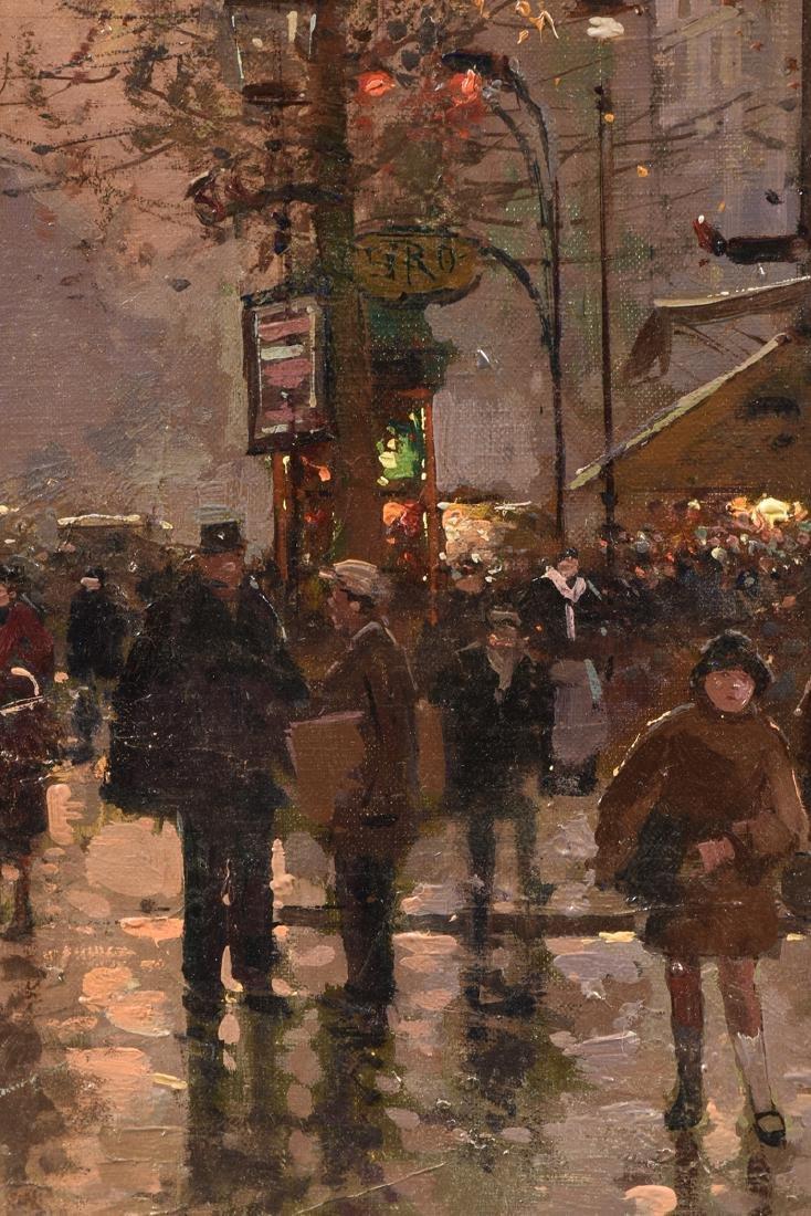 "ÉDOUARD CORTÈS (French 1882-1969) A PAINTING, ""Street - 6"