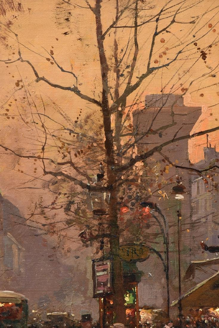 "ÉDOUARD CORTÈS (French 1882-1969) A PAINTING, ""Street - 7"