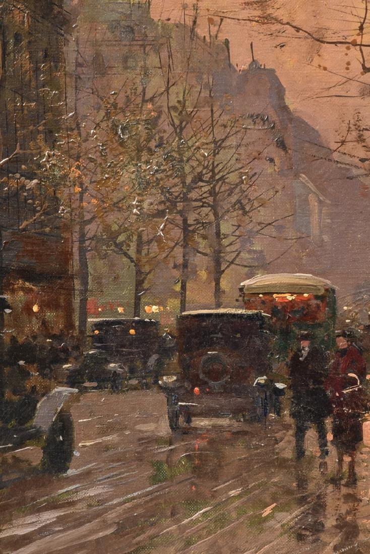 "ÉDOUARD CORTÈS (French 1882-1969) A PAINTING, ""Street - 8"