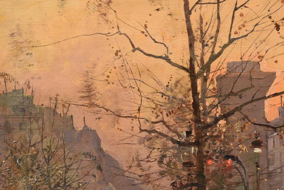 "ÉDOUARD CORTÈS (French 1882-1969) A PAINTING, ""Street - 9"