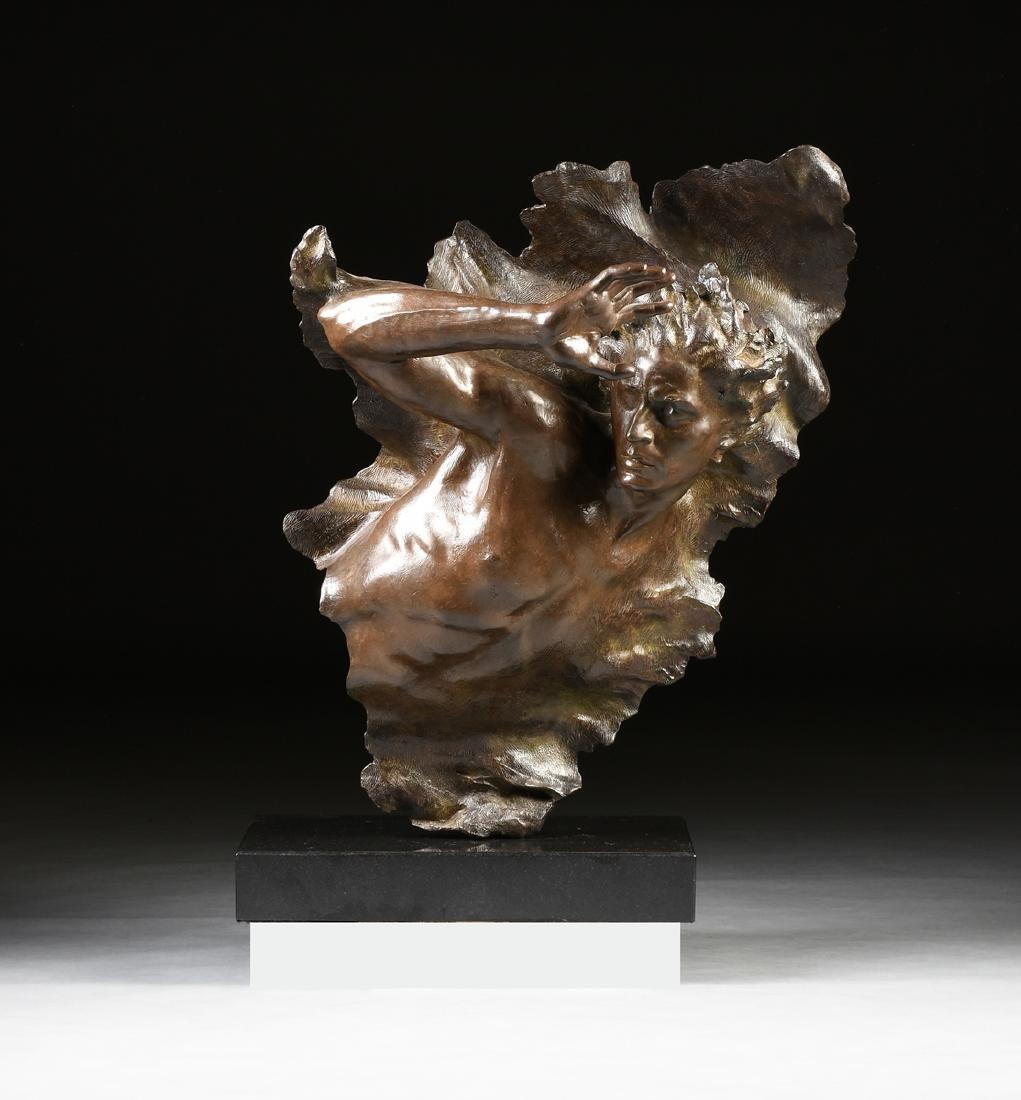 FREDERICK ELLIOTT HART (American 1943-1999) A BRONZE
