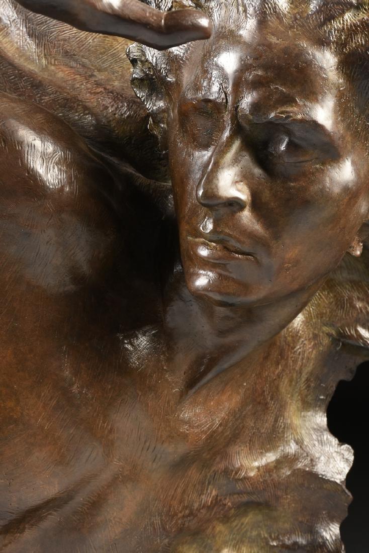 FREDERICK ELLIOTT HART (American 1943-1999) A BRONZE - 6