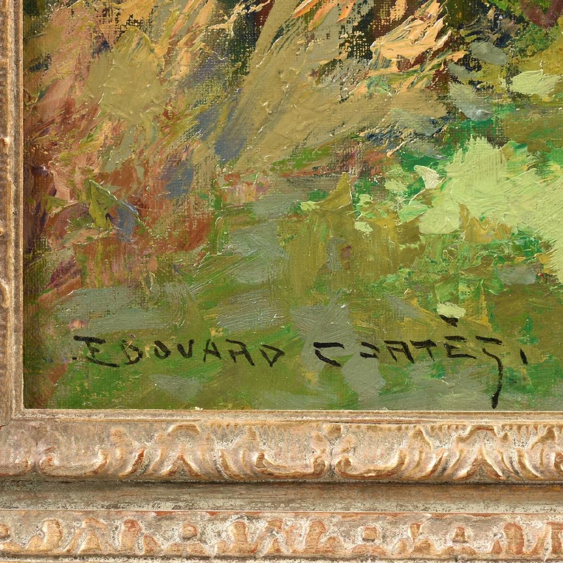 "ÉDOUARD CORTÈS (French 1882-1969) A PAINTING, ""Farm - 3"