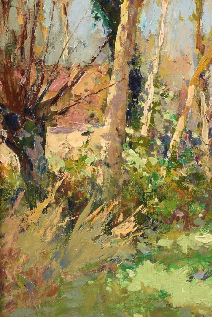 "ÉDOUARD CORTÈS (French 1882-1969) A PAINTING, ""Farm - 4"