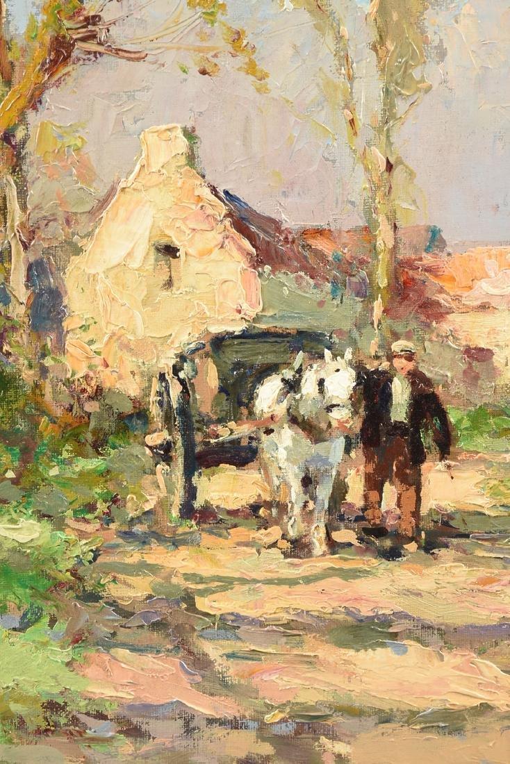 "ÉDOUARD CORTÈS (French 1882-1969) A PAINTING, ""Farm - 5"