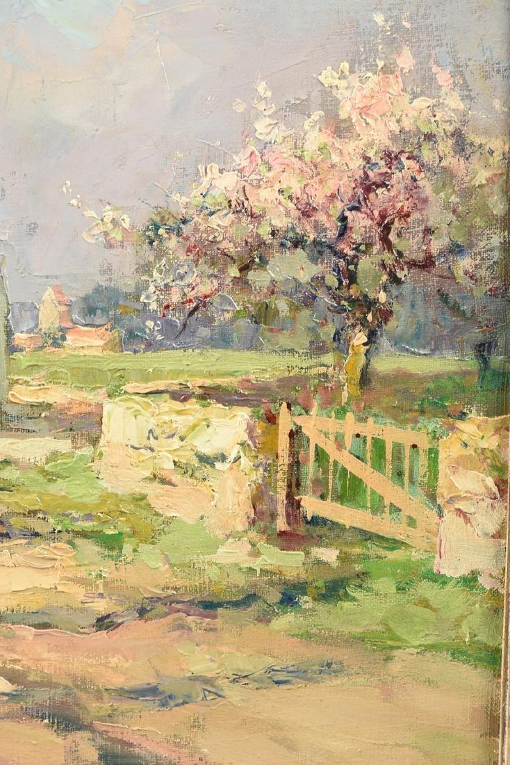 "ÉDOUARD CORTÈS (French 1882-1969) A PAINTING, ""Farm - 6"