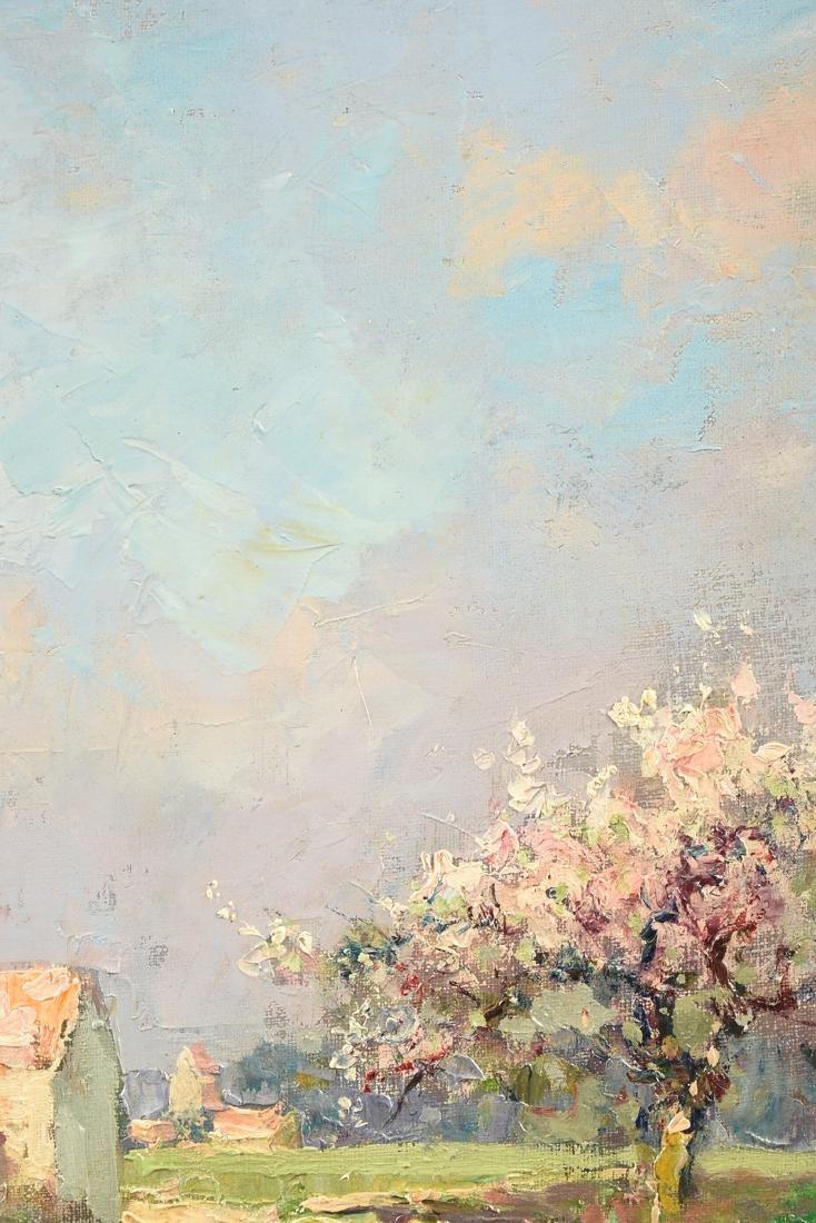 "ÉDOUARD CORTÈS (French 1882-1969) A PAINTING, ""Farm - 7"