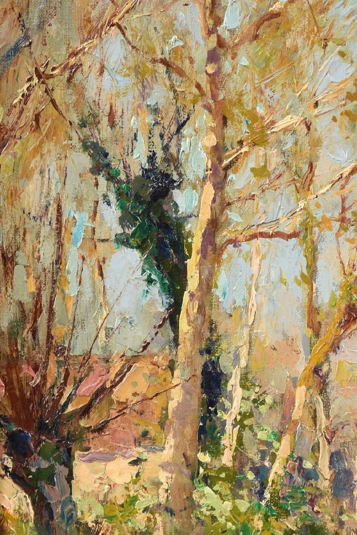 "ÉDOUARD CORTÈS (French 1882-1969) A PAINTING, ""Farm - 9"