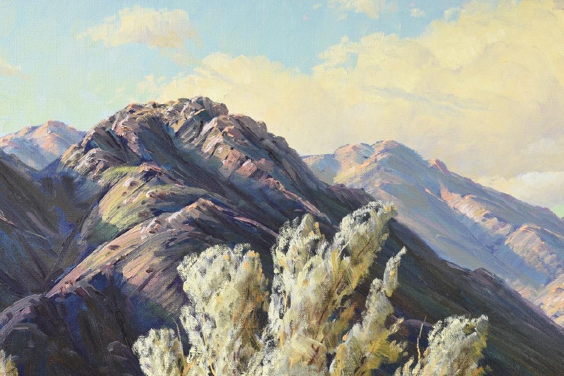 "PAUL GRIMM (American 1891-1974) A PAINTING, ""Desert - 10"