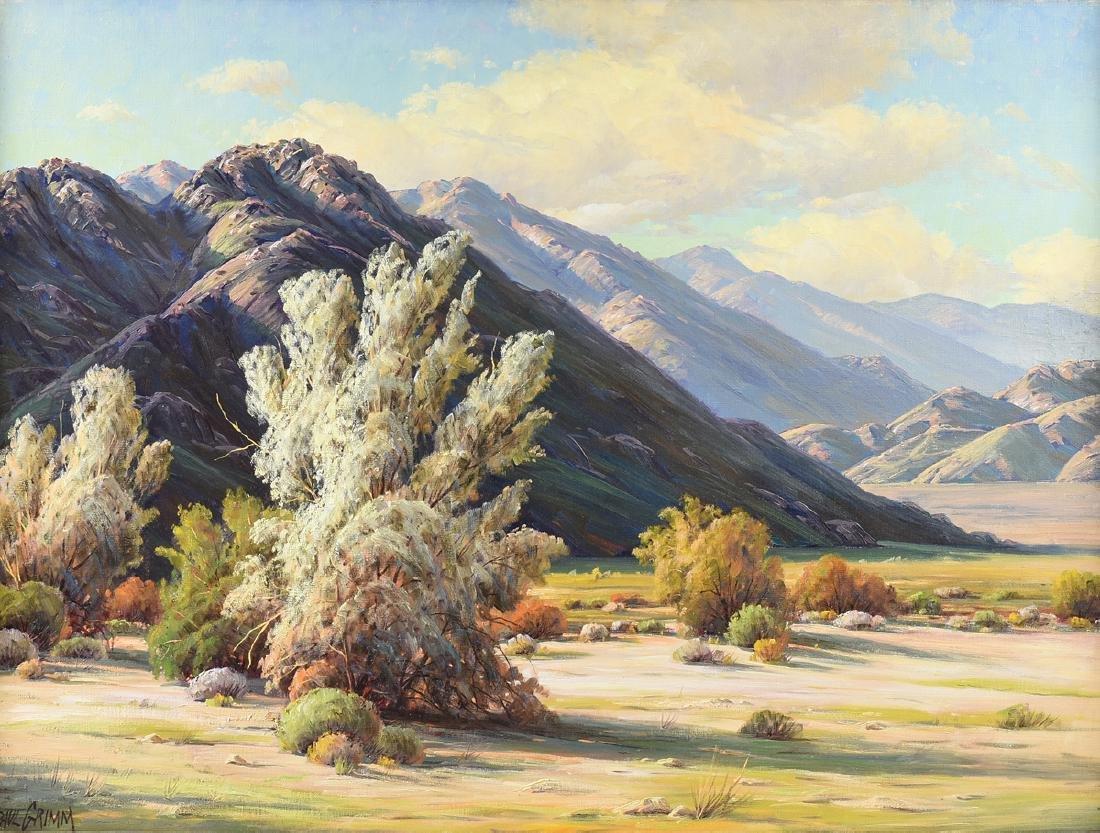 "PAUL GRIMM (American 1891-1974) A PAINTING, ""Desert"