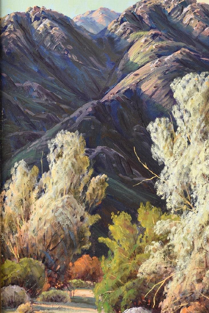 "PAUL GRIMM (American 1891-1974) A PAINTING, ""Desert - 4"