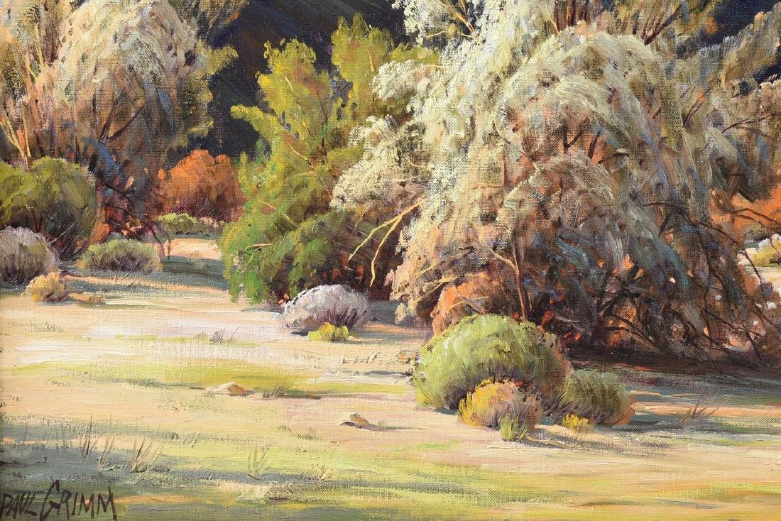 "PAUL GRIMM (American 1891-1974) A PAINTING, ""Desert - 5"